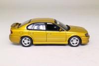 Auto Art 58611; 1999 Subaru Legacy Sedan; Gold Metallic