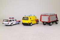 Cararama 16725; 1:43 Scale, 3 Piece Set; Emergency Services