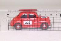 Corgi Classics 96746; Morris Minor Saloon; Rally Trim, RN323, Red
