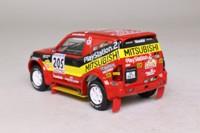 SKID SKW028; Mitsubishi Pajero Evo; 2001 Rallye Paris-Dakar Winner; J Kleinschmitt & A Schulz, RN205