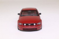 Minichamps 400 084120; 2005 Ford Mustang Coupe; Red Metallic