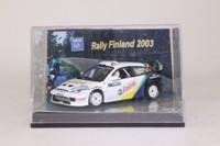 Vitesse 43302; Ford Focus WRC; 2003 Finland Rally, M Martin, M Park, RN4