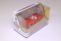 Dinky Toys DY-31; 1955 Ford Thunderbird; Top Down; Red