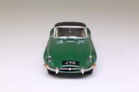 Dinky by Matchbox DY-1B; 1967 Jaguar E-Type; Soft Top, Dark Green
