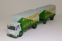 Corgi Classics 97891; AEC Ergomatic Cab; 4 Wheel Box Van & Trailer; Billy Smart's Circus