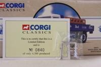 Corgi Classics 98457; Mack B Series Truck; Dropside, White Rock Club Soda