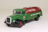 Corgi Classics 98449; White Truck; Petrol Tanker, The Petrol Corporation