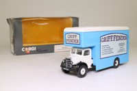 Corgi Classics C953/5; Bedford O Series Pantechnicon; Griff Fender; Swansea & London