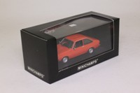 Minichamps 400 084100; Ford Escort MkII; 1975 Red, Spanischrot