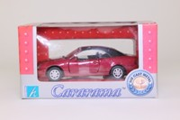 Cararama 25000; Mercedes-Benz CLK 320 (W208); Soft Top; Metallic Red
