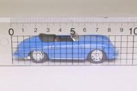 Corgi Classics 96360; Porsche 356a Speedster; Open Top, Royal Blue