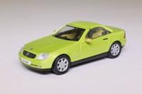 Herpa B 6 600 5252; 1996 Mercedes-Benz SLK 230; Metallic Lime Green