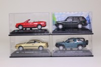Cararama; Bargain Box; 4 Assorted 1:72 Scale Vans & Cars