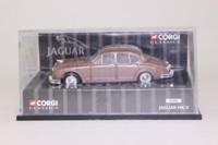 Corgi Classics 01802; 1959 Jaguar Mk.2 3.4 Litre; Bronze Metallic