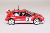 Vitesse 43005; Peugeot 206 WRC; 2003 Catalunya Rally, R Burns, R Reid, RN2