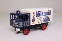 Models of Yesteryear Y-37/1; 1929 Garrett Steam Wagon; Milkmaid Brand Milk