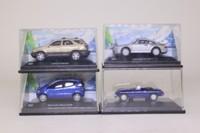 Cararama; Bargain Box; 4 Assorted 1:72 Scale Vans & Cars