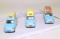 Oxford Diecast SET26; 1:43 Scale 3 Pce Set; Walls Ice Cream Vans, Ford Anglia