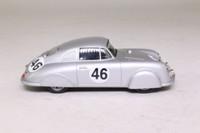 DeAgostini 1951 Porsche 356 Light Metal Coupe; Metallic Silver