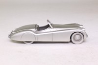 Danbury Mint; 1948 Jaguar XK120 Roadster; Unfinished Pewter