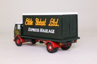Corgi Classics 25102; Leyland Mouthorgan Cab; 4 Wheel Flatbed with Container, Eddie Stobart