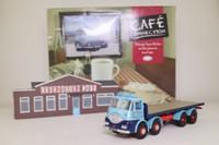Corgi Classics CC10501; ERF KV; 8 Wheel Rigid Flatbed: Richard Red Transport Ltd, Coronation Café