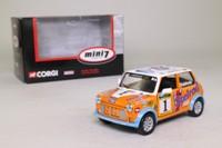 Corgi Classics CC82246; BL/Rover Mini; Peter Baldwin, RN1, Mini 7 Series