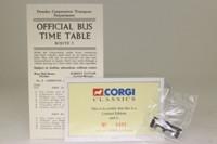 Corgi Classics 97018; Weymann / AEC Regal Bus; Dundee Corporation; Rt 3 Johnston Ave via Albany Ter