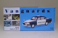 Vanguards VA46000; Ford Zephyr 6 MkIII; West Riding Constabulary