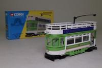 Corgi Classics 36603; Double Deck Tram Open Top, Open Platform; West Hartlepool: Hartlepool - Seaton
