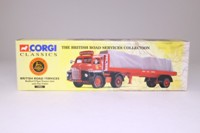 Corgi Classics 19901; Bedford S; Artic Flatbed, Sheeted Load, British Road Services, Swindon
