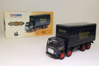 Corgi Classics 26001; Albion Mouthorgan Cab; 8 Wheel Rigid Flatbed With Container; Ballantines Scotch Whisky