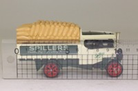 Models of Yesteryear Y-27/1; 1922 Foden Steam Wagon; Spillers; Sack Load
