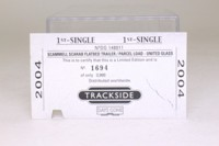 Trackside DG148011; Scammell Scarab; Artic Flatbed, United Glass, Parcel Load