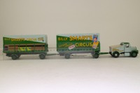 Corgi Classics 97897; Scammell Highwayman; Billy Smart's Circus: Ballast Tractor & Two Trailers