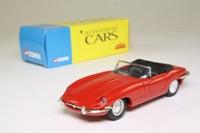 Corgi Classics 96080; Jaguar E-Type; Top Down; Red; Century of Cars Series #02