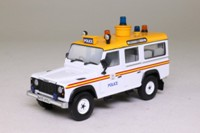 Corgi Classics CC07709; Land-Rover 110 Defender; Metropolitan Police Unit, Heathrow Airport