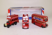 Oxford Diecast 68020; 1:76 Scale 3 Piece Set; London Buses, Routemaster, RT & J Type