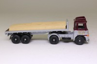 Trackside DG186009; ERF LV Artic; Twin Axle Flatbed, John Mitchell, Timber Load