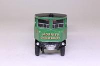 Corgi Classics 80008; Sentinel Steam Wagon; Flatbed & Trailer, Morris's Shrewsbury, Oil Drum Load