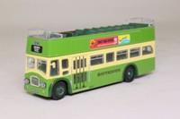 Corgi OOC 42001; Leyland PD3 Bus 'Queen Mary'; Open Top: Southdown; Rt 102 Arundel, Shoreham, Worthing