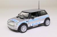 Corgi Classics CC86516; 2001 BMW Mini-Cooper; New South Wales Police; Nine Double Nine