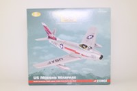 Corgi Classics AA35802; North American F-86F Sabre Fighter; 116th FIS, 81st FIW, USAF, England, 1951