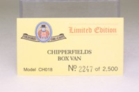 Oxford Diecast CH018; Bedford TK; Chipperfields Circus Roman Chariots