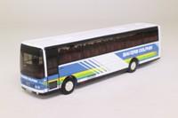 Corgi OOC 42706; Van Hool Alizee Coach; Bakers Dolphin, Bristol & the West Country (No rear window)