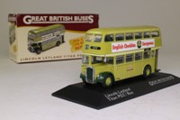 Atlas Editions 4 655 121; Leyland Titan PD2 Roe Bus; City of Lincoln, 09 City