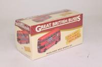 Atlas Editions 4 655 126; BMMO D9 Double Deck Bus; Midland Red; 658 Leicester via Nuneaton