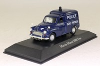 Atlas Editions 4 650 104; Morris Minor 1000 Van; West Riding Constabulary Dog Patrol
