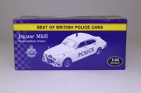 Atlas Editions 4 650 101; Jaguar MkII; Bedfordshire Police, White