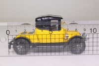 Corgi Classics C862; 1910 Renault 12/16 Coupe; Yellow, Black Hood